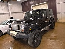 2012 Jeep Wrangler 4WD Unlimited Sahara for sale 101000216