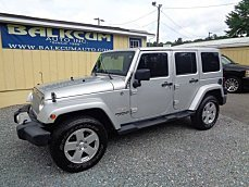 2012 Jeep Wrangler 4WD Unlimited Sahara for sale 101005012