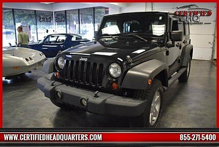 2012 Jeep Wrangler 4WD Unlimited Sport for sale 101036728