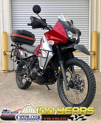 2012 Kawasaki KLR650 for sale 200609641