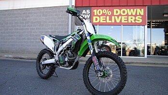 2012 Kawasaki KX450F for sale 200524310