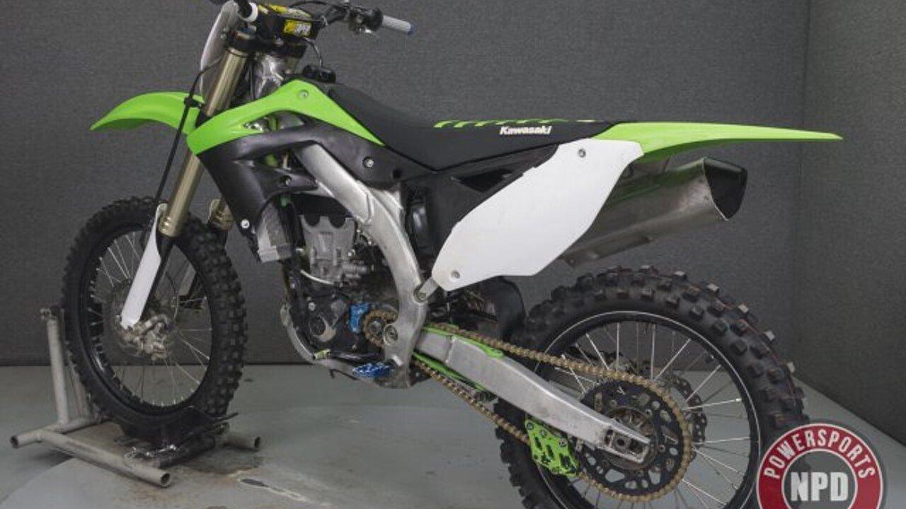 2012 Kawasaki KX450F for sale 200621090