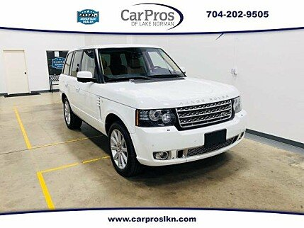 2012 Land Rover Range Rover Supercharged for sale 100968428