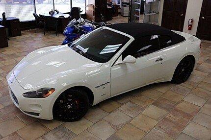 2012 Maserati GranTurismo Convertible for sale 100778091