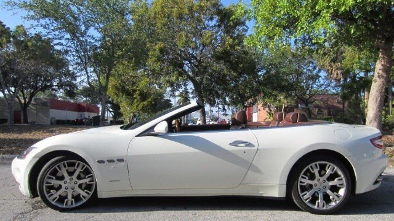 2012 Maserati GranTurismo Convertible for sale 100972467