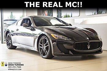 2012 Maserati GranTurismo MC Stradale Coupe for sale 101016815