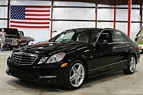 2012 Mercedes-Benz E550 4MATIC Sedan for sale 100777427