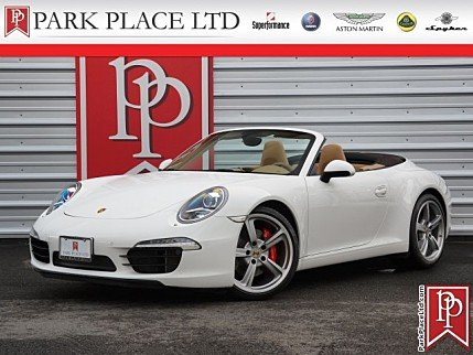2012 Porsche 911 Carrera S Cabriolet for sale 100924024