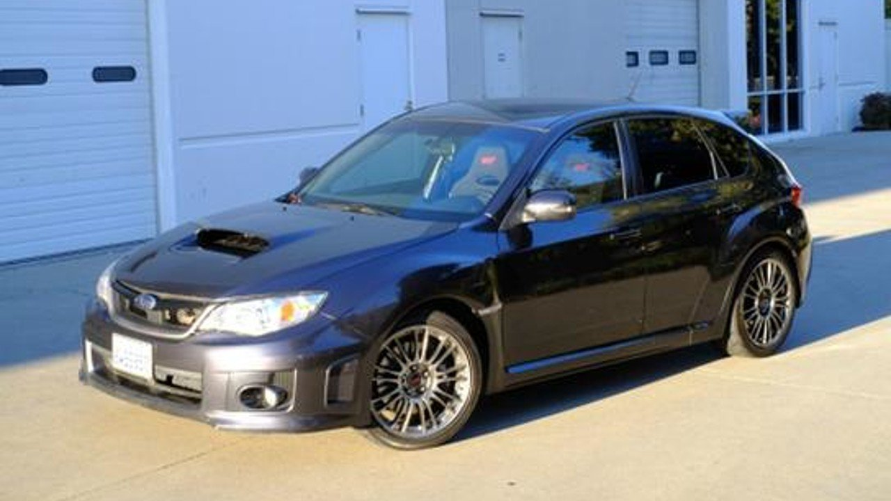 2012 subaru impreza wrx sti hatchback for sale near alameda california 94103 classics on. Black Bedroom Furniture Sets. Home Design Ideas