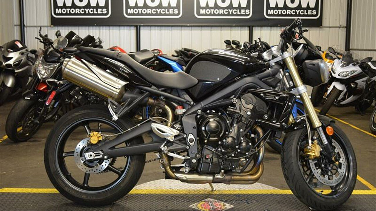 2012 Triumph Street Triple for sale 200498654