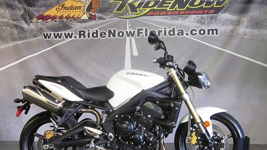 2012 Triumph Street Triple for sale 200620941