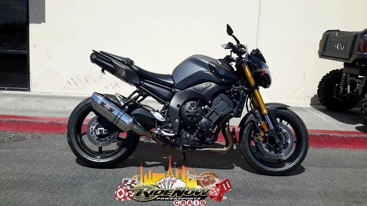 2012 Yamaha FZ8 for sale 200609436