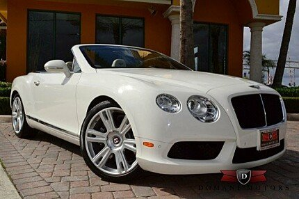 2013 Bentley Continental GT V8 Convertible for sale 100721670