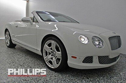 2013 Bentley Continental GT Convertible for sale 100760075
