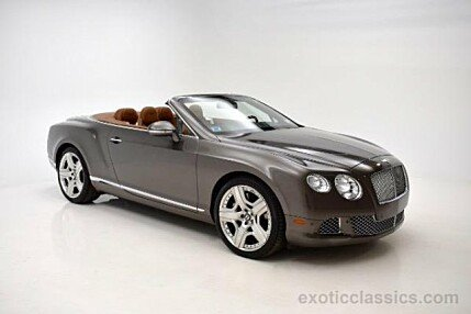 2013 Bentley Continental GT Convertible for sale 100855307