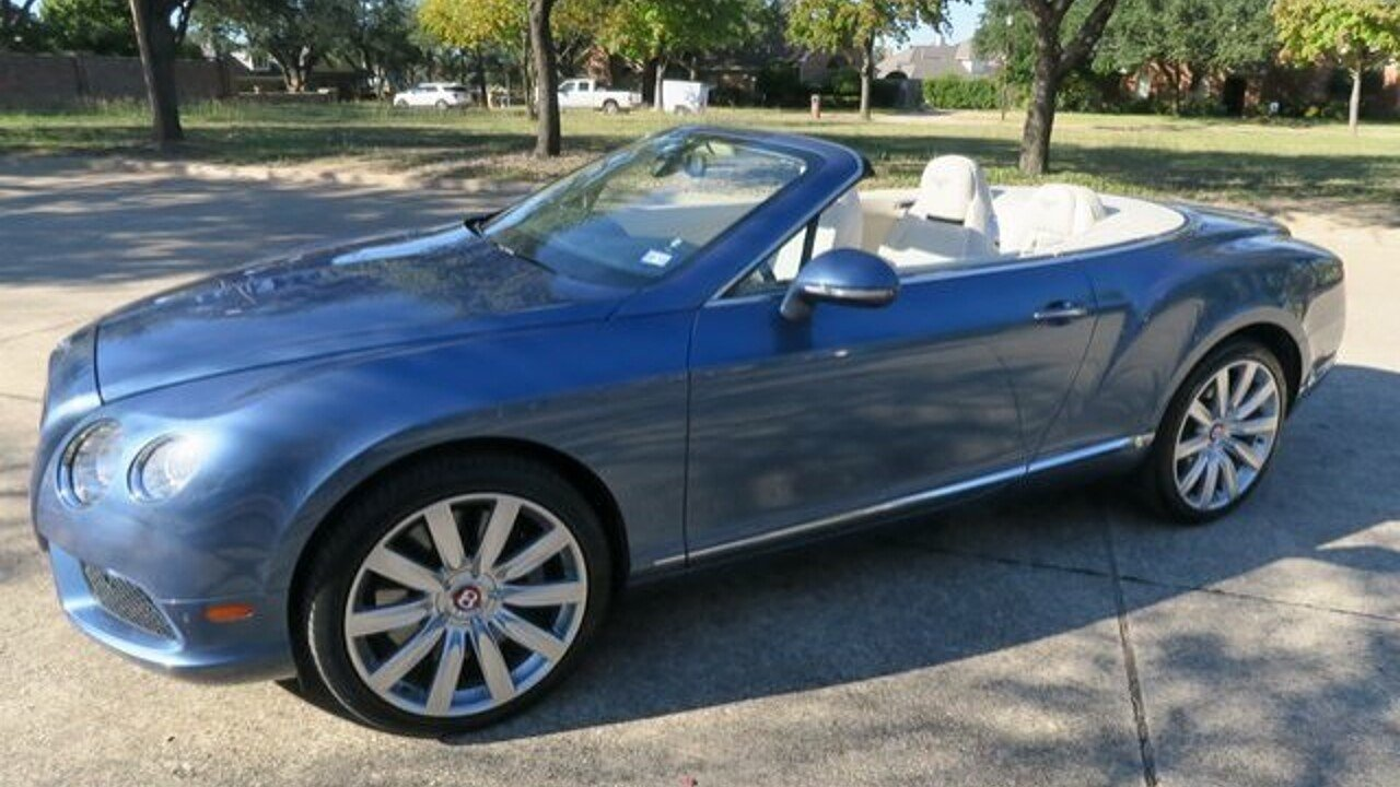 2013 Bentley Continental GT V8 Convertible for sale 100926514
