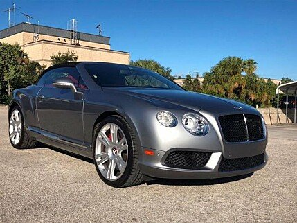 2013 Bentley Continental GT V8 Convertible for sale 100930350