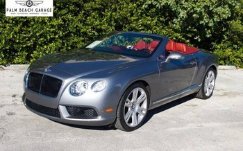 2013 Bentley Continental GT V8 Convertible for sale 100966826