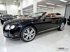 2013 Bentley Continental GT Convertible for sale 100968790