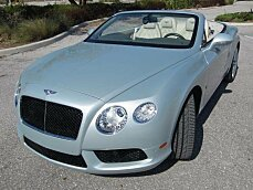 2013 Bentley Continental GT V8 Convertible for sale 100995784