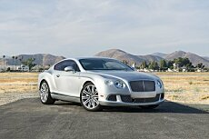 2013 Bentley Continental GT Speed Coupe for sale 101007082