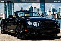 2013 Bentley Continental GT Convertible for sale 101031245