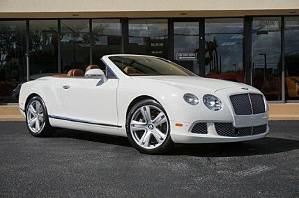 2013 Bentley Continental GT Convertible for sale 101054810