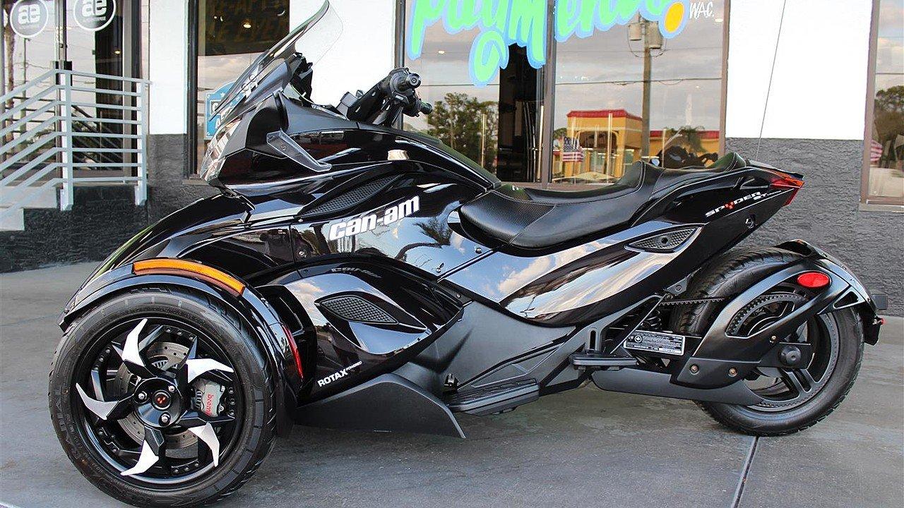 2013 can am spyder st s for sale near new port richey. Black Bedroom Furniture Sets. Home Design Ideas