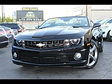 2013 Chevrolet Camaro SS Convertible for sale 101037393