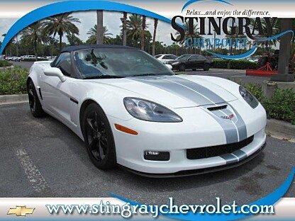 2013 Chevrolet Corvette Grand Sport Convertible for sale 100991408