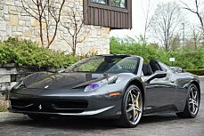 2013 Ferrari 458 Italia Spider for sale 100755296
