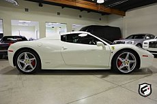 2013 Ferrari 458 Italia Spider for sale 100837361