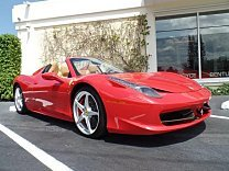 2013 Ferrari 458 Italia Spider for sale 100864916