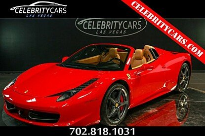 2013 Ferrari 458 Italia Spider for sale 100899309