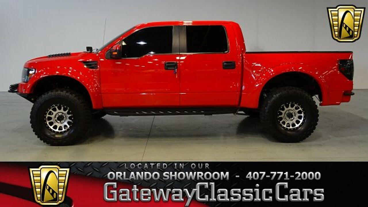 2013 Ford F150 4x4 Crew Cab SVT Raptor for sale 100920314