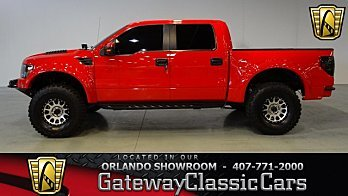 2013 Ford F150 4x4 Crew Cab SVT Raptor for sale 100963521