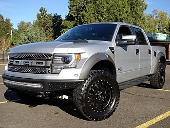 2013 Ford F150 4x4 Crew Cab SVT Raptor for sale 101043796