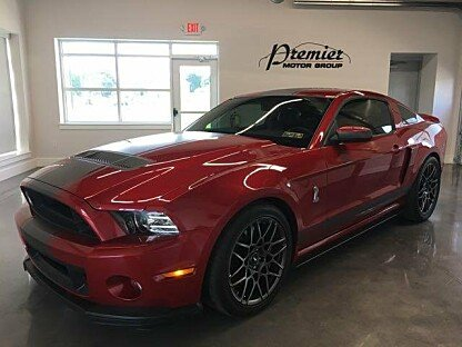 2013 Ford Mustang Shelby GT500 Coupe for sale 100890631