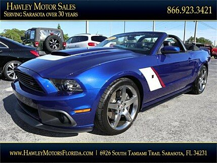 2013 Ford Mustang GT Convertible for sale 100922124