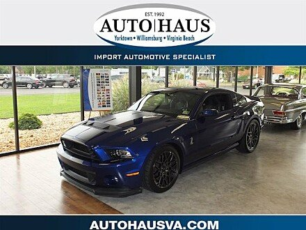2013 Ford Mustang Shelby GT500 Coupe for sale 101008950