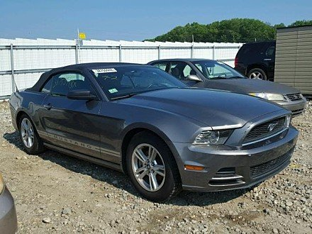 2013 Ford Mustang Convertible for sale 101030710