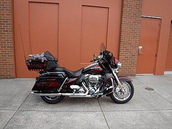 2013 Harley-Davidson CVO for sale 200499136