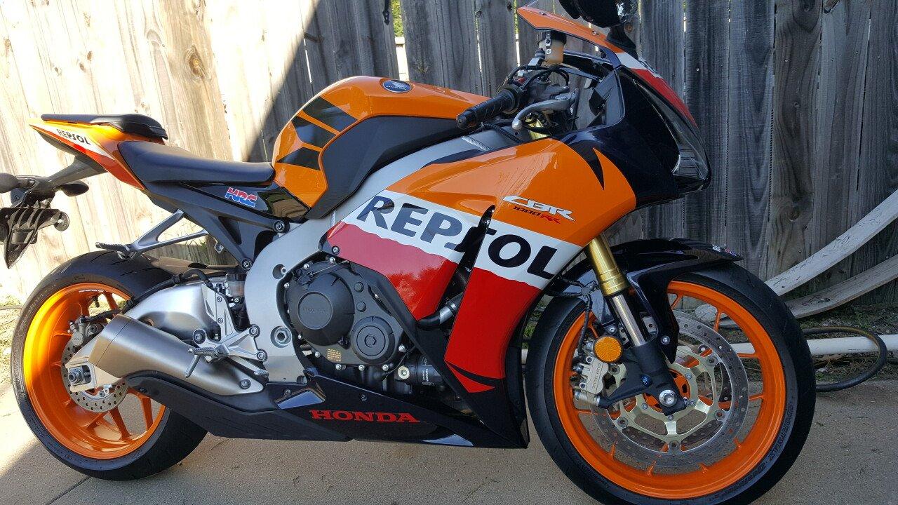 2013 Honda Cbr1000rr Repsol Edition For Sale Near Wichita