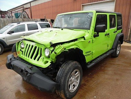2013 Jeep Wrangler 4WD Unlimited Sport for sale 100749722
