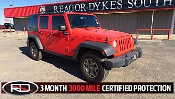 2013 Jeep Wrangler 4WD Unlimited Rubicon for sale 100906727