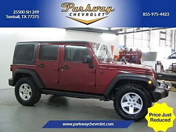 2013 Jeep Wrangler 4WD Unlimited Sport for sale 100943002