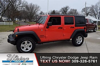 2013 Jeep Wrangler 4WD Unlimited Sport for sale 100968793