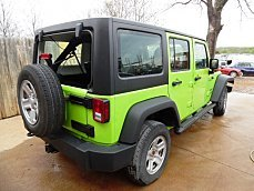 2013 Jeep Wrangler 4WD Unlimited Sport for sale 100291235