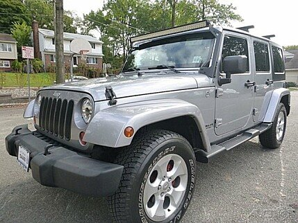 2013 Jeep Wrangler 4WD Unlimited Sahara for sale 100770108