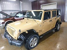 2013 Jeep Wrangler 4WD Unlimited Sport for sale 100868586